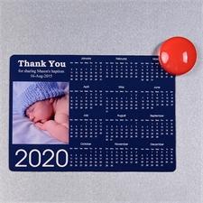 Navy 2018 Fotomagnetkalender 8,9 cm x 12,7 cm Personalisieren