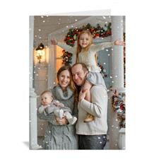 Personalisierte Weihnachtsgrußkarten und Einladungen zu den Feiertagen
