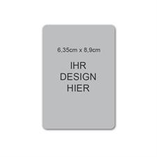 Magnetische Vistenkarte, Hochformat, 6,35 cm x 8,89 cm