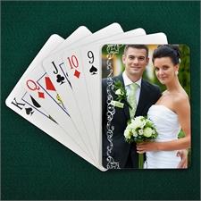 Selbstgemachte Valentinsspielkarten