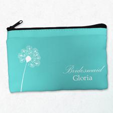 Blume Kosmetiktasche Beide Seiten gleich Personalisieren