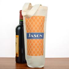 Arabisches Muster Weinflaschentaschen Personalisieren