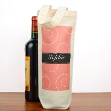 Wirbelwind Weintasche Personalisieren