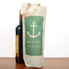 Anker Personalisierte Weintasche Flaschentasche Selbstgestalten