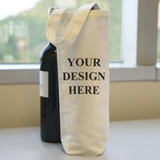 Weihnachtsbaum Weintasche 100% Baumwolle Flaschentasche Personalisieren