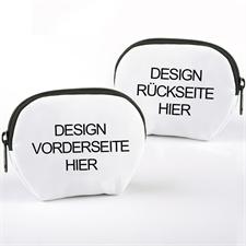 Kleines personalisiertes Kosmetiktäschchen mit Reißverschluss Foto Design