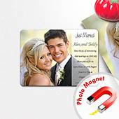 Wir heiraten, Photo-Magnet
