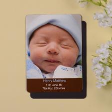 Unser Junge, Photo-Magnet, Kokosbraun