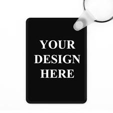 Aluminium Schlüsselanhänger Farbdruck Personalisieren 41x57mm