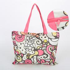 Babytasche mit Reißverschluss 100% Bedrucken Personalisieren 27,9 x 35,6 cm