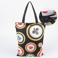 Babytasche Hochformat Reißverschluss Personalisieren 27,9 x 35,6 cm