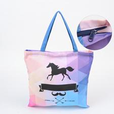 Babytasche mit Reißverschluss für Babysachen Personalisieren 40,6 x 40,6 cm