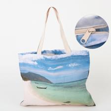 Ladytasche mit Reißverschluss 100% Bedrucken Personalisieren 27,9 x 35,6 cm