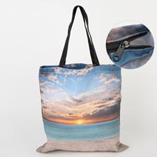 Ladytasche mit Reißverschluss 100% Bedrucken Personalisieren 40,6 x 40,6 cm