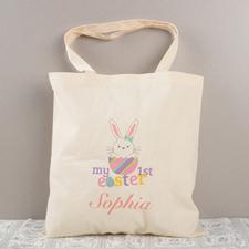 Girl Ostern Meine Erste Personalisierte Budget Tasche Baumwolle