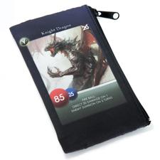 Reißverschluss Schwarz Spielkartentasche Gleiches Foto Personalisieren bis zu 108 Karten