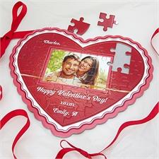 Personalisiertes Herzpuzzle Muttertag