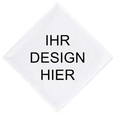 Design Kopftuch Bandana Maxi Text Personalisieren 55,9 x 55,9 cm