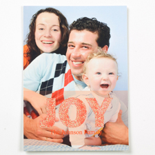 Valentinstag Glitzer Fotokarte Rot Personalisieren 127x178
