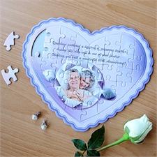 Personalisierte Herzpuzzles 'Heirate mich'