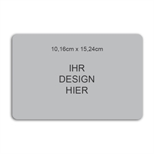 Photomagnet, 10,16 cm x 15,24 cm, Querformat, gerundet