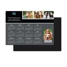 Collage Schwarz 2018 Fotomagnetkalender 8,9 cm x 12,7 cm Personalisieren