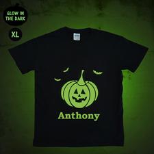 Leuchtendes T-Shirt Glow Personalisieren Baumwolle Größe XL