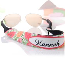 Rot Orange Sonnenbrillenband Blumenmuster Band Personalisieren