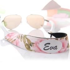 Wasserfarben Sonnenbrillenband Blumenmuster Band Personalisieren