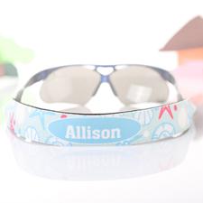 Strand Sonnenbrillenband Blumenmuster Personalisieren