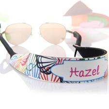 Bunte Muscheln Sonnenbrillenband Personalisieren