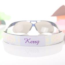 Pastel Griechisches Muster Sonnenbrillenband Personalisieren