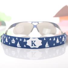 Navy Tourist Sonnenbrillenband Personalisieren