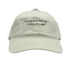 Baseballkappe für Betriebe Personalisieren Werbeträger Khaki