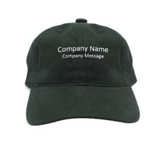 Baseballkappe für Betriebe Personalisieren Werbeträger Grün
