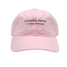 Baseballkappe für Betriebe Personalisieren Werbeträger Pink