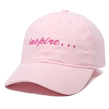 Pink Baseballkappe Personalisieren Sicherheit ist cool