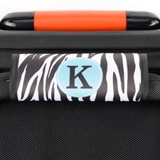 Zebra Kofferschild Personalisieren