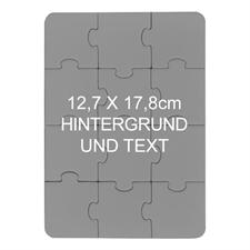 Personalisiertes Foto Puzzle, 12 Teile, Querformat