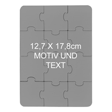 Magnetischisches Foto Puzzle, Hochformat 12,7 X 17,8 Cm