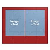 Vier Bilder Kollagepuzzle, Weihnachten