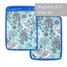 Custom Design Premium Ultra-Plush Padded Sleeve for iPad Air & iPad Pro 9.7