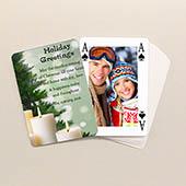 Bridge Spielkarten Weihnachten Beidseitig personalisierbar