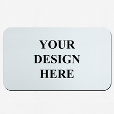 Custom Imprint 14X24 Rubber Game mat, 1-sides