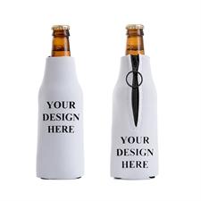 100 Prozent selbst gestalten Personalisierter Flaschenkühler mit Reißverschluss