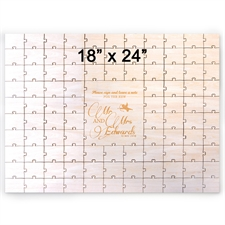 Gewerbe Holzpuzzle mit Gravur Querformat 457 x 610 mm 99 Teile