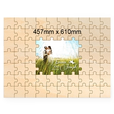 Gewerbe Personalisiertes Holzpuzzle 457x610 mm 59 Teile