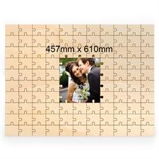 Gewerbe Personalisiertes Holzpuzzle Mittiges Motiv 457x610 mm 99 Teile