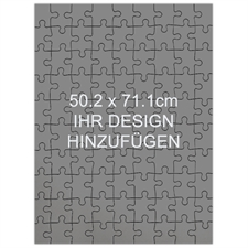 Großes Holzpuzzle Personalisieren Hochformat 502 x 711 mm 1000 Teile