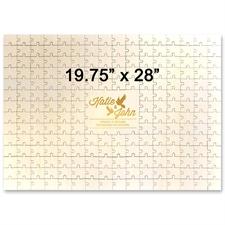 Holzpuzzle mit Gravur Personalisieren Querformat 502 x 711 mm 209 Teile